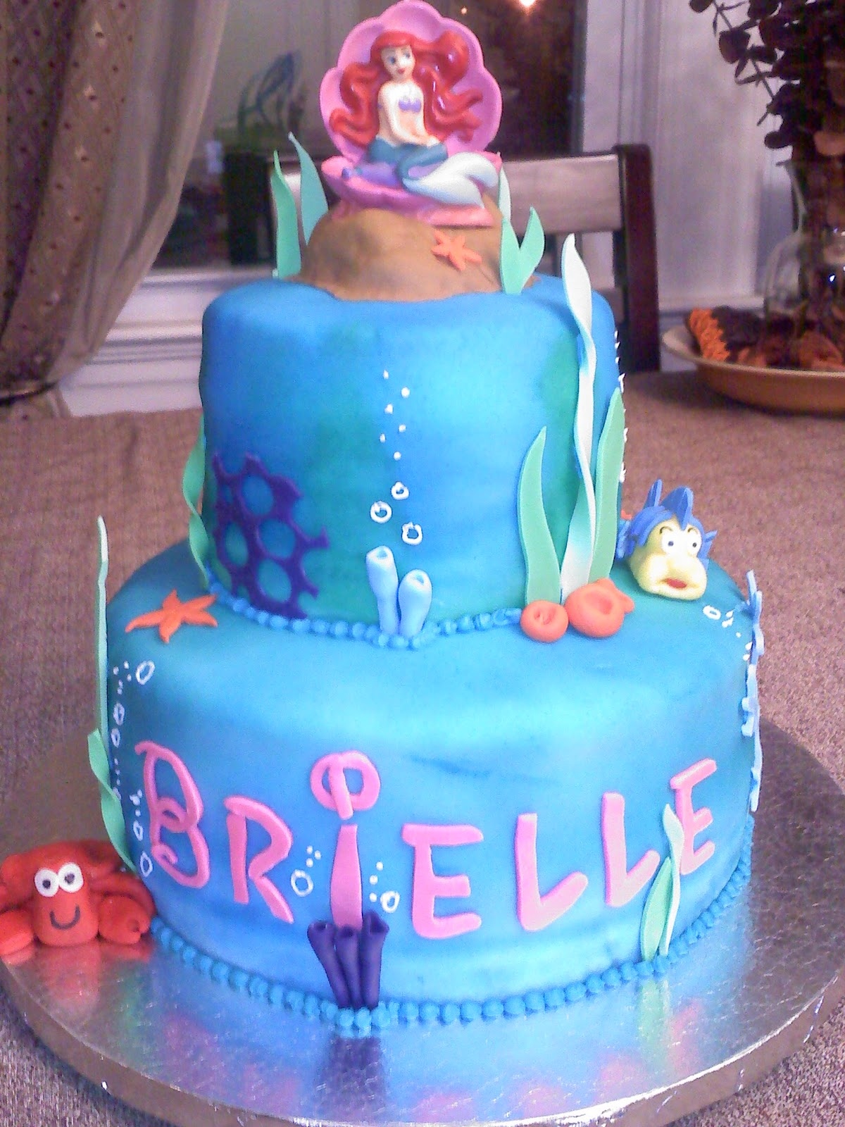 Lick Your Lips Cakes Little Mermaid Cake
