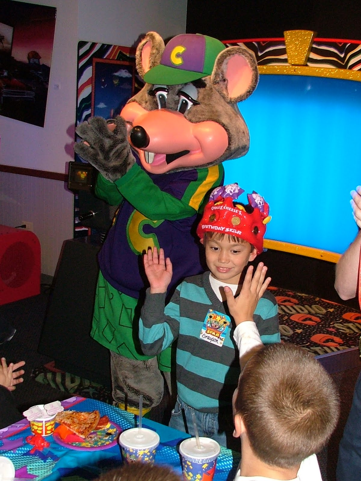 Bittner Family Updates Chuck E Cheese Party