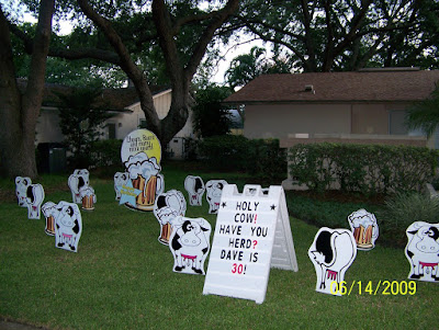 Cows Beer Mugs Chickens Flamingos Pigs Traffic Signs Baby Bottles Storks And MORE Posted By Birthday Lawn