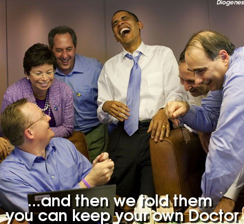 Obama Laught at Our Expense