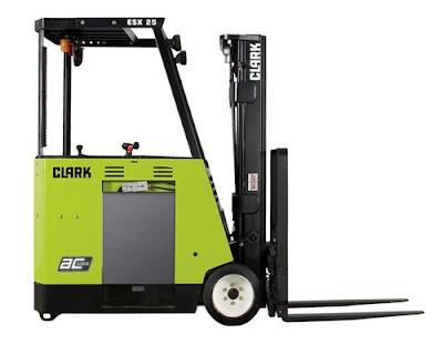 Clark ESX 25 Forklift
