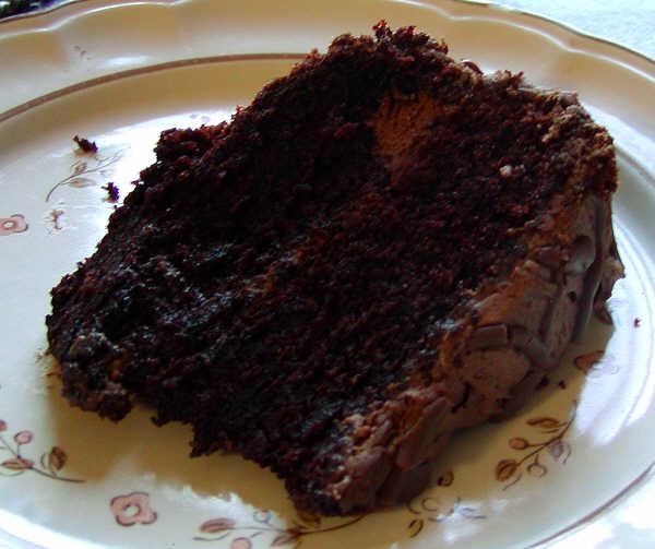 Easy Moist Chocolate Coffee Cake