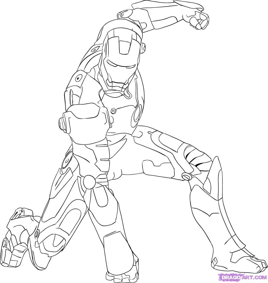 Baú Da Web: Desenhos Do Homem De Ferro