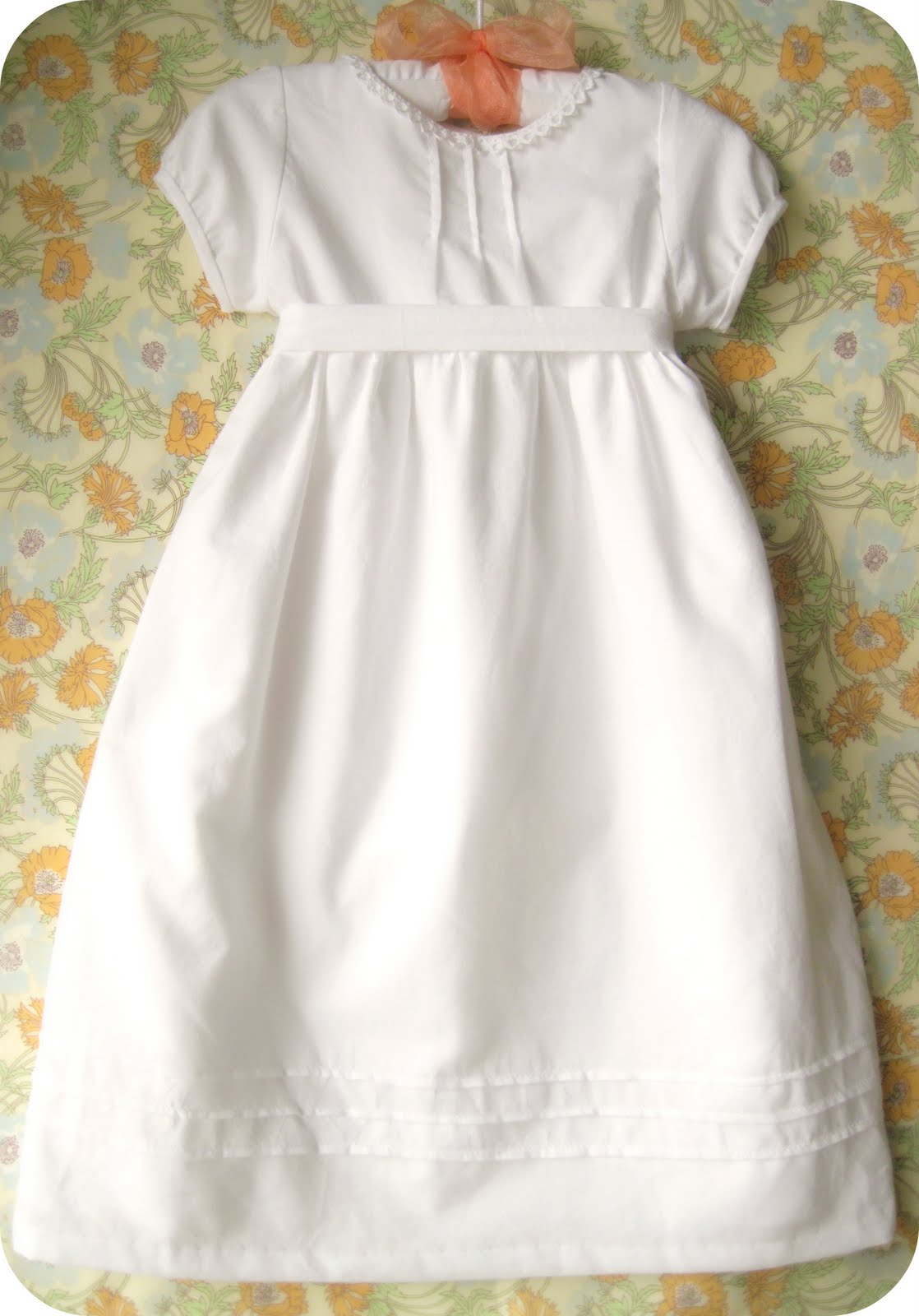 Ruby\'s blessing dress - Home made by jill 2013