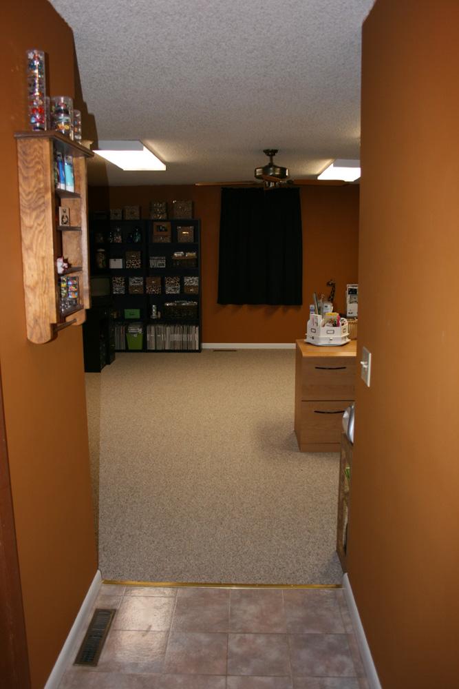Angela S Studio My New Scrapbook Room