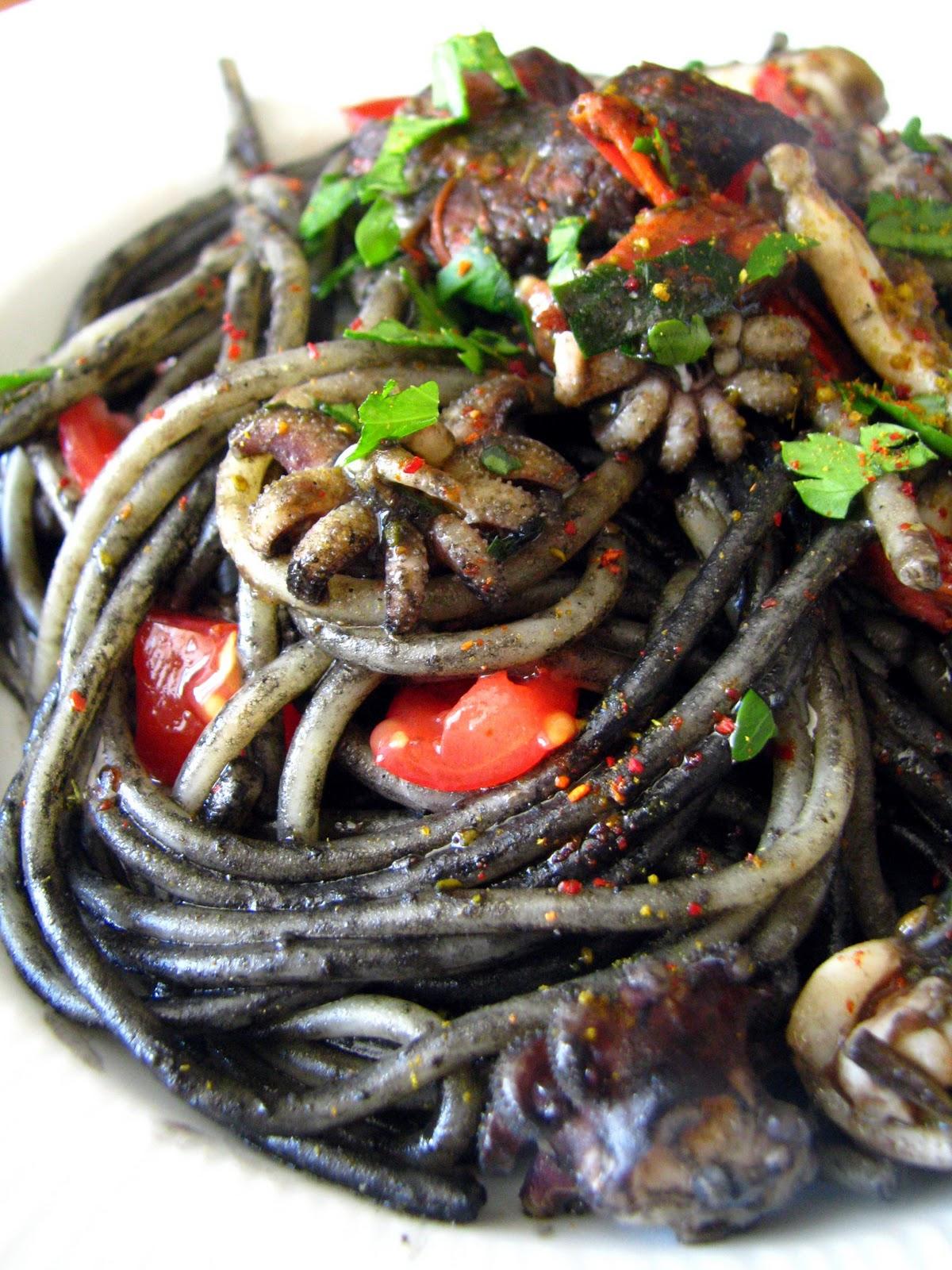 S Spaghettis Lencre De Seiche Seiches Et L