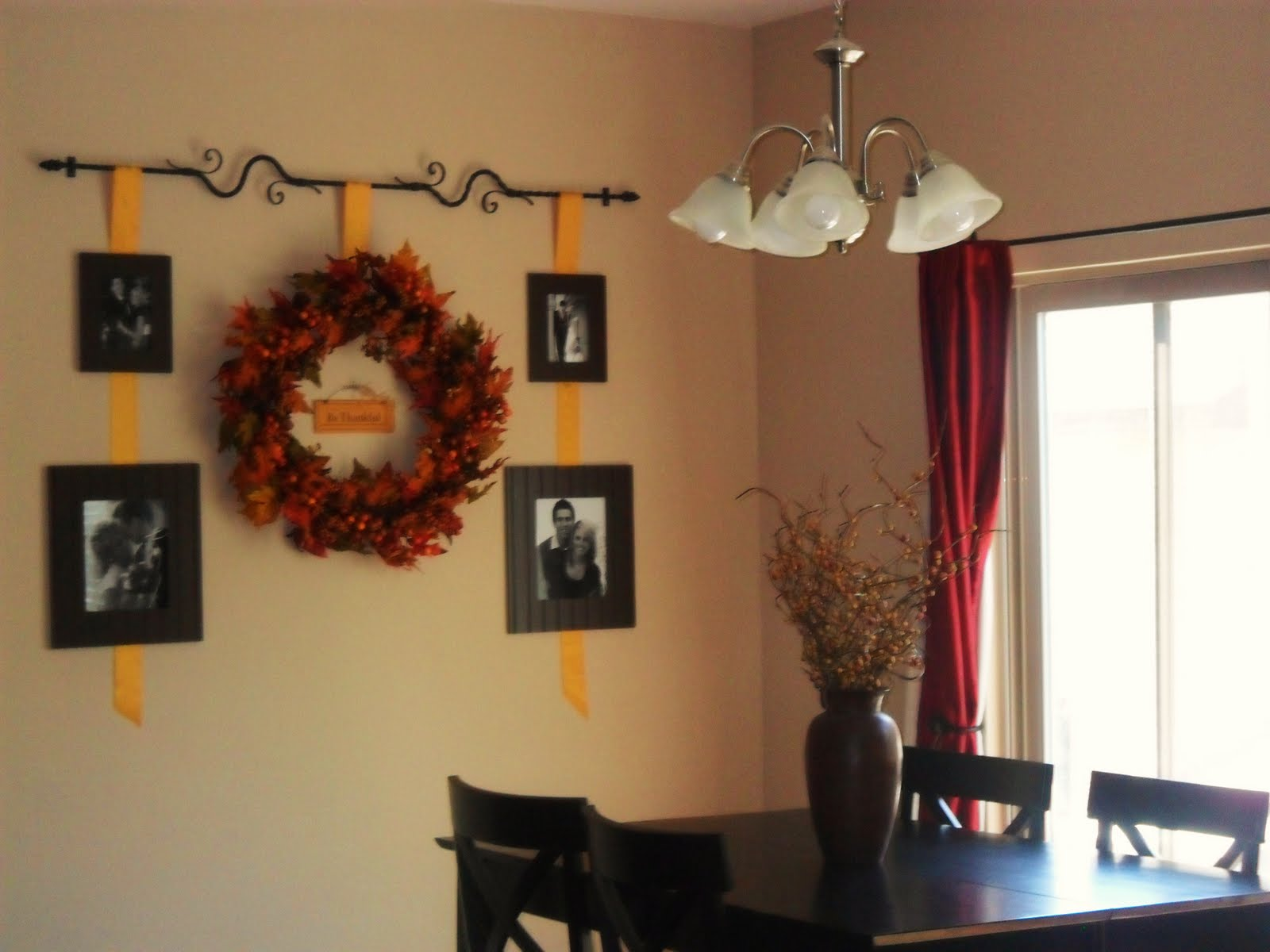 Pinterest Wall Decor: Fall Wall Decor Idea