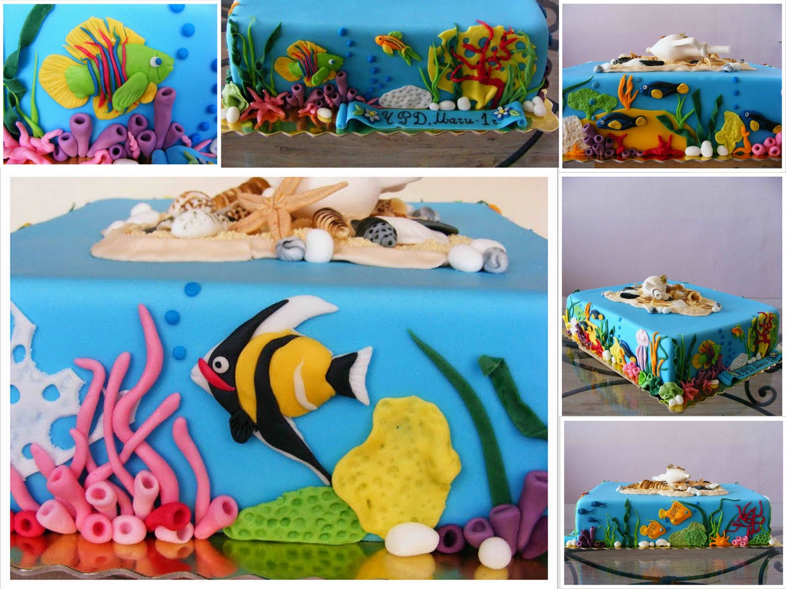 Under The Sea Cake For My Cake Snob Daughter