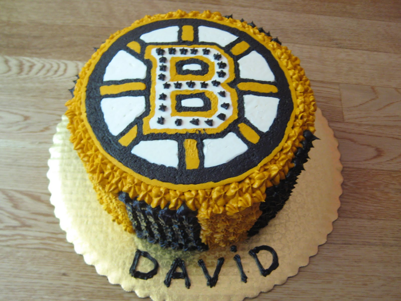 This Bruins Cake Was For A 11 Year Old Boy Who Had NEVER Special His Birthday