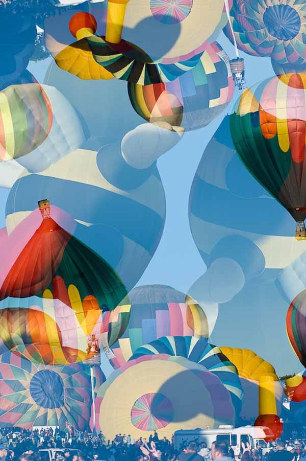Chaos at the Balloon Races