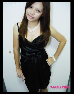 Xoxokiss Classy Cleavage Evening Dress