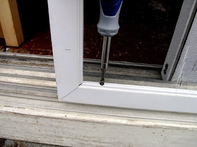 Dover Projects How To Repair A Sliding Screen Door