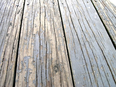 This Close Up Of Our Pressure Treated Pine Wood Deck Shows S Ling And Some Rot My First Idea Was To Replace The Boards