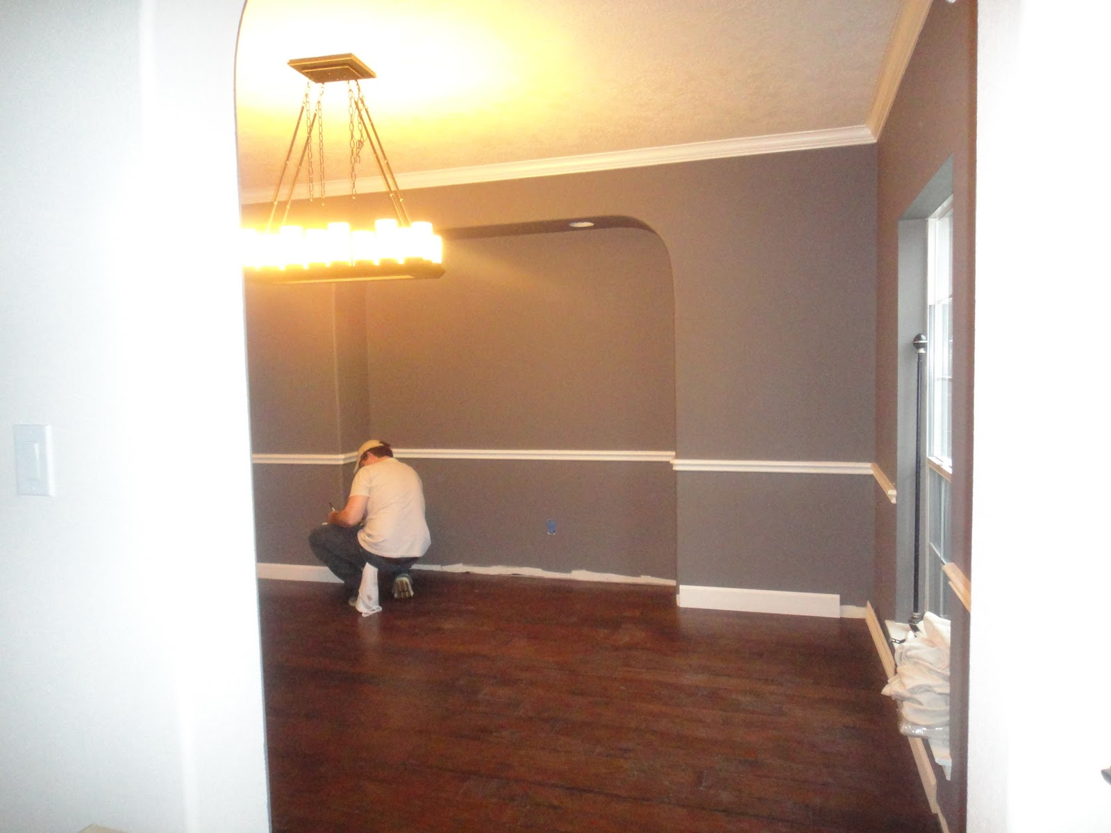 Dining Rooms With Chair Rail Paint Ideas