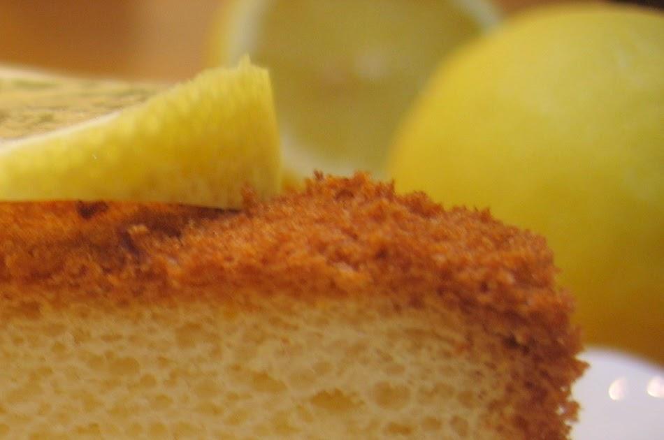 The Lemon Chiffon Cake Bible