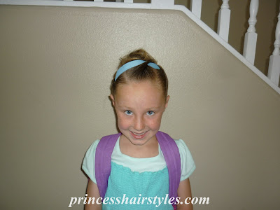 cute hairstyle for dance