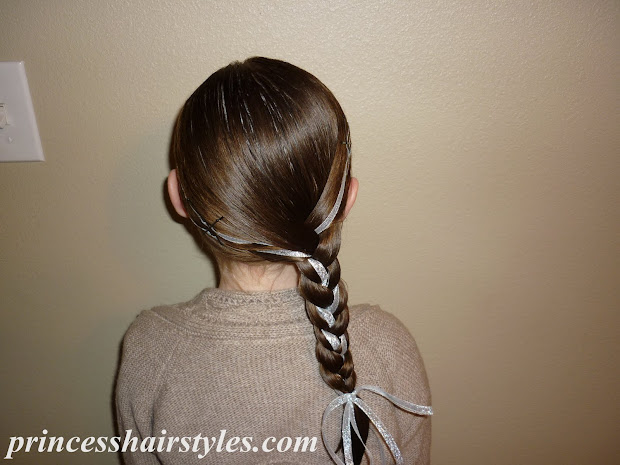 double headband ribbon braid