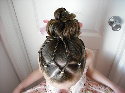 An Easter Dress And Fancy Easter Hair Hairstyles For