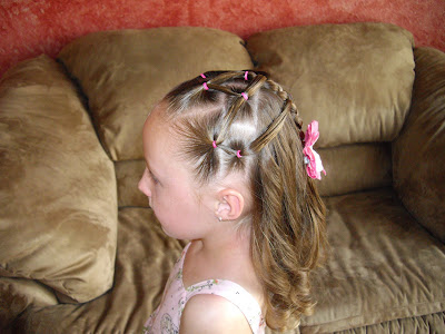 little elastics hairstyle