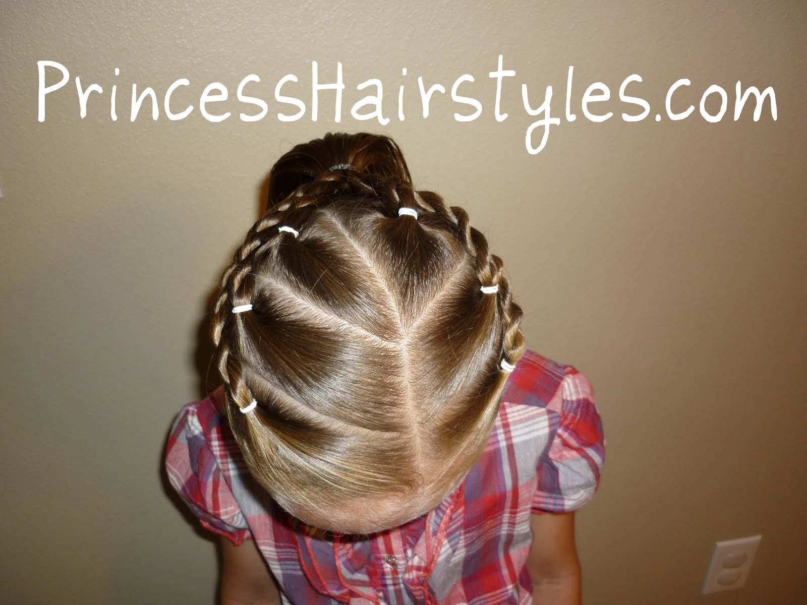 cute hairstyle for sports | hairstyles for girls - princess