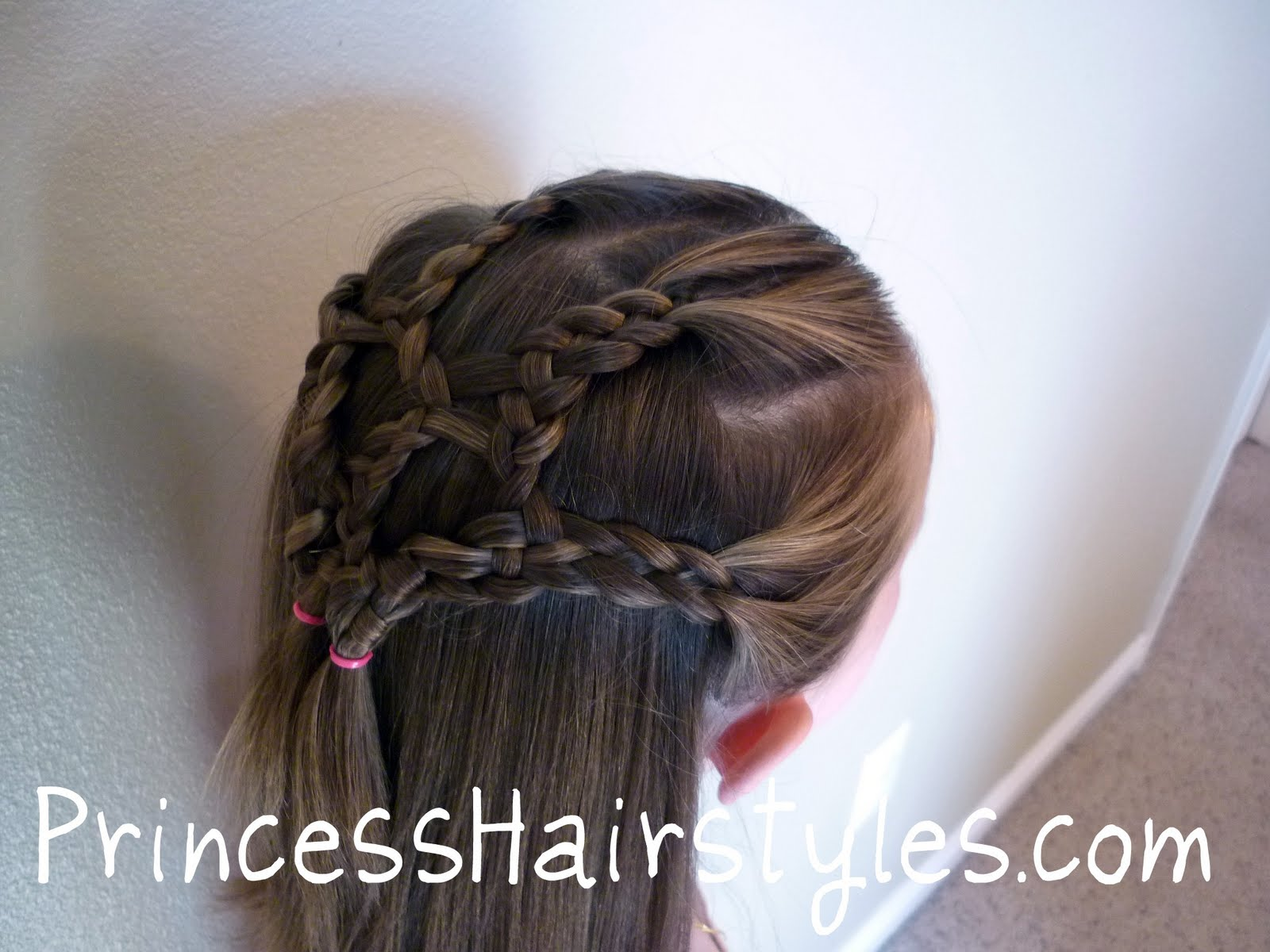 Braided Hair Styles For Little Girls: Hairstyles For Girls - Princess