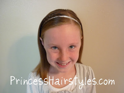 ribbon braid headband