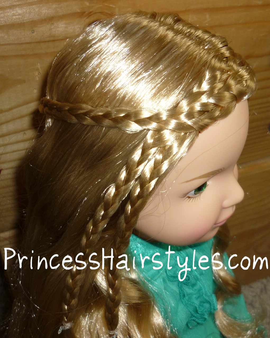 bfc ink doll hairstyle | hairstyles for girls - princess hairstyles