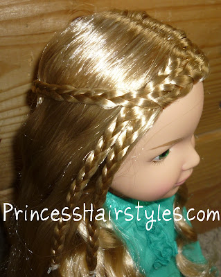 braided doll hairstyle