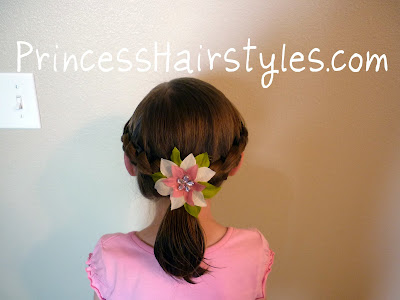 quick hairstyle for school
