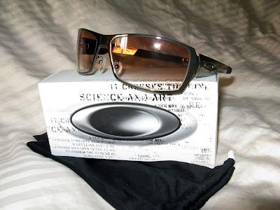 25bef659a6bc0 Oakley Spike Black Chrome w  Brown Graduated Lens