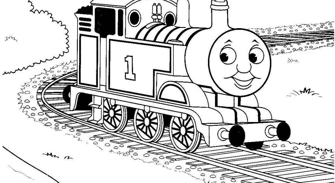 Stanley the tram engine coloring pages ~ Paint Tank Thomas Colouring Pages For Kids Print And ...