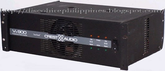 vs crest audio power amplifier requirements i dj disco. Black Bedroom Furniture Sets. Home Design Ideas