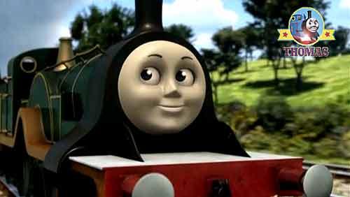 Green Engine Emily the tank engine | Train Thomas the tank