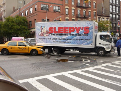 How To Buff A Car >> EV Grieve: Cabs, Sleepy's truck collide on First Avenue ...