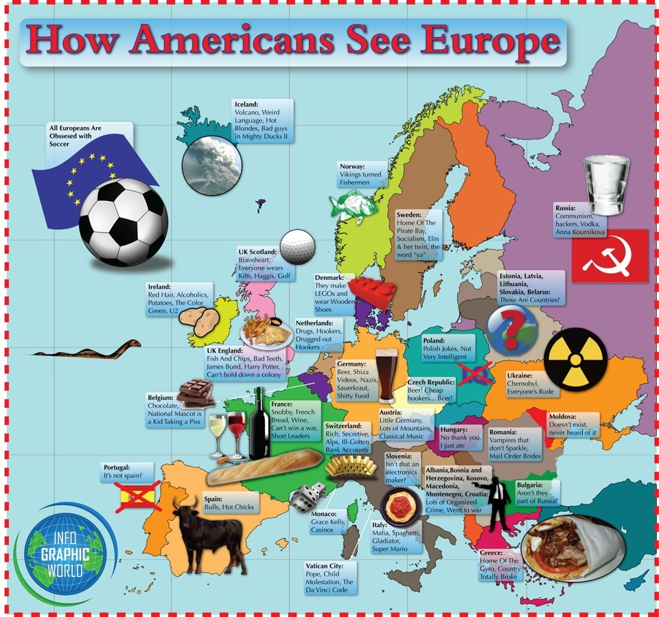 Comment les Américains voient l'Europe...
