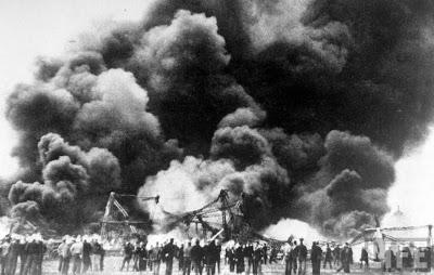 Tragedi Meledaknya Balon Udara Raksasa Zeppelin