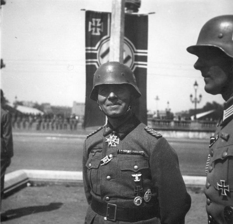 nazi jerman daftar lengkap peraih ritterkreuz  r 447 orang