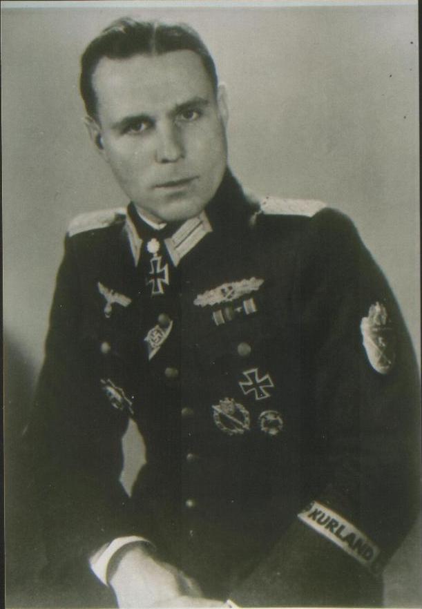 nazi jerman daftar lengkap peraih eichenlaub tahun 1945