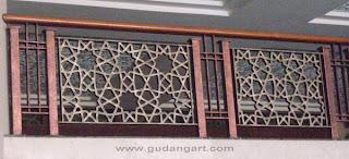 Cor+Logam+Aluminium+Railing+Masjid