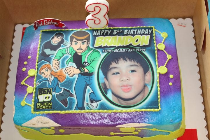 Mommy Tots Ben 10 Party Theme