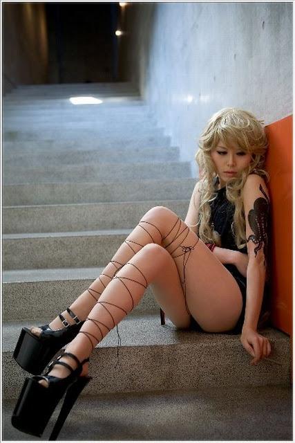 Sexy anime cosplay girls