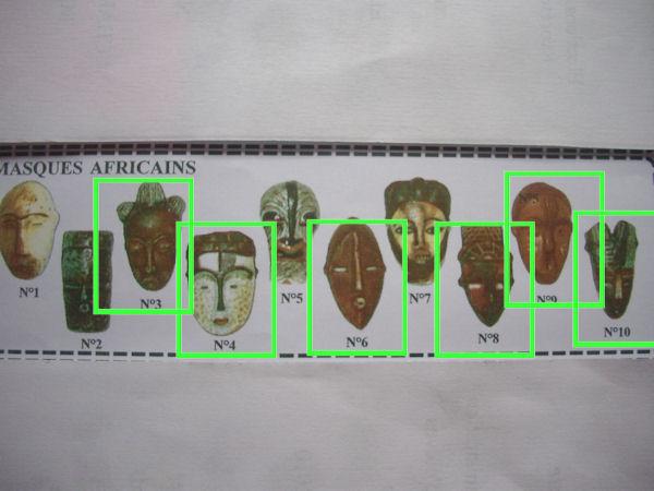 super mignon acheter pas cher nouvelles images de MILLE ET UNE FEVES: MASQUES AFRICAINS en MAT 2001