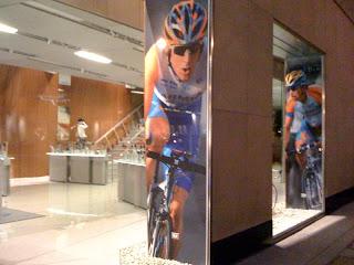 Tour de France Spectator 2011: Chicago Garmin Store Shout-Out