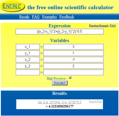 The Free Online Scientific Calculator - Encalc | Veerublog