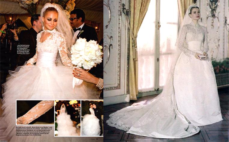 NICOLE RICHIE FASHION: Nicole's Wedding Dresses