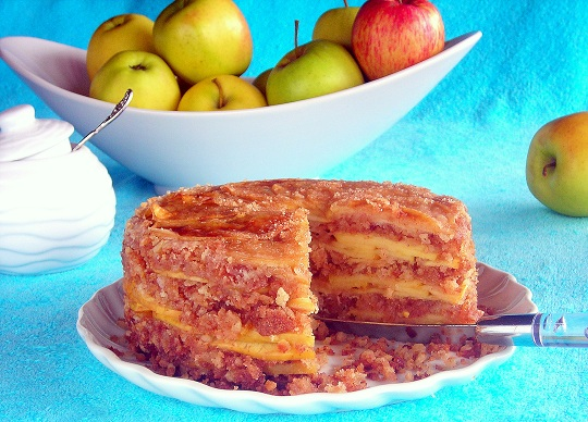 pressure cooker apple dessert
