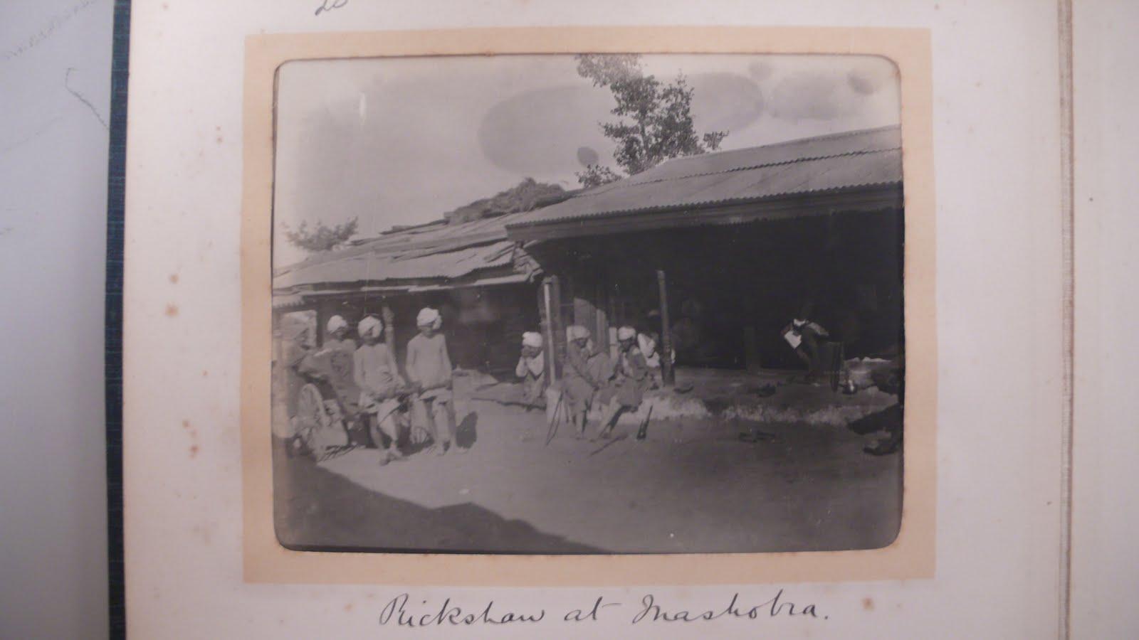 Mashobra India Rickshaw - 1902