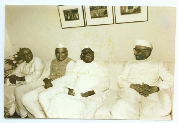 Morarji Desai and Jagjivan Ram