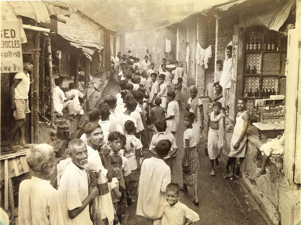 Calcutta's poor people