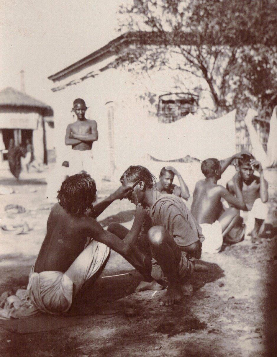 Barbers, Calcutta c.1903